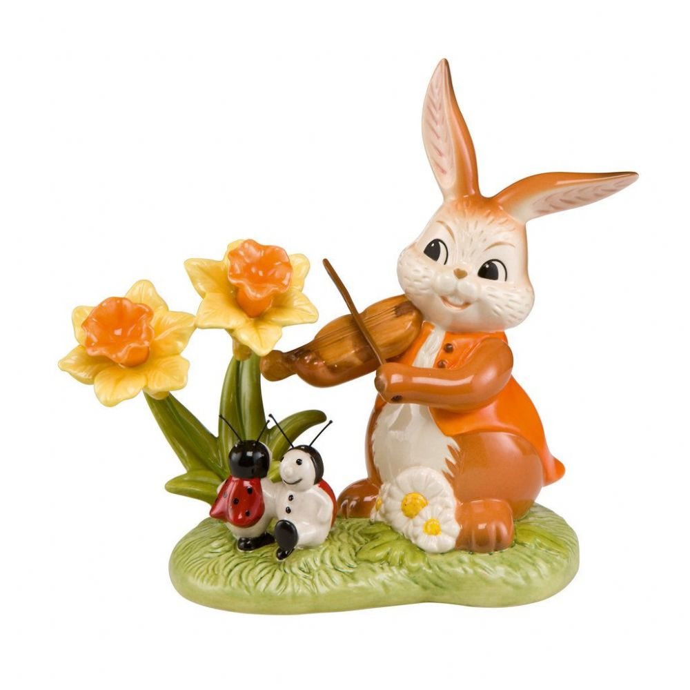 Dance Into The Spring Easter Bunny by Goebel Porcelain 66843451